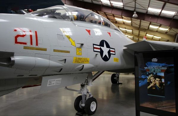 Le Grumman F-14 Tomcat Pima Air Space Museum Tucson