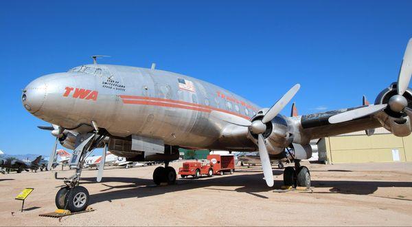 Lockheed L-049 Constellation Pima Air Space Museum Tucson
