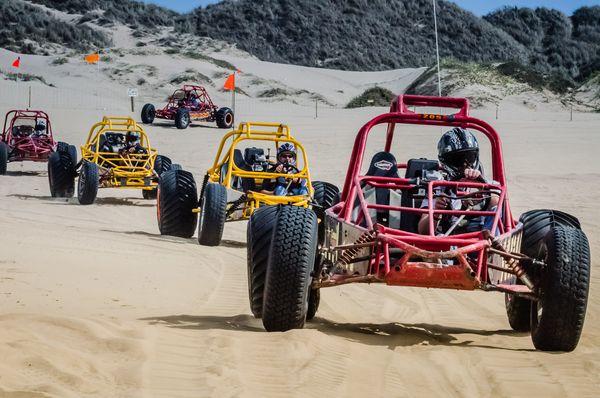 Oceano Dunes State Vehicular Recreation Area Pismo Beach Californie