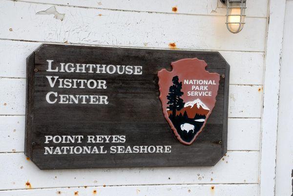 Panneau Lighhouse Visitor Center Point Reyes