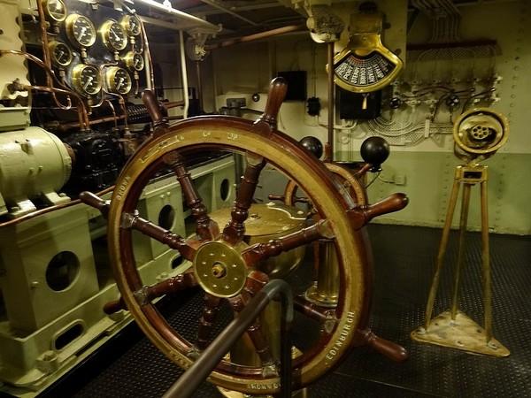 Salle des machines Queen Mary