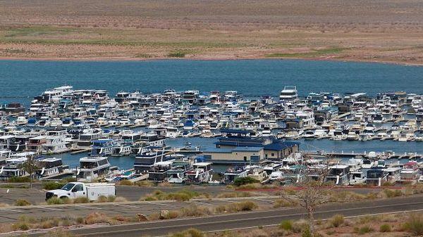 Marina de Wahweap lac Powell