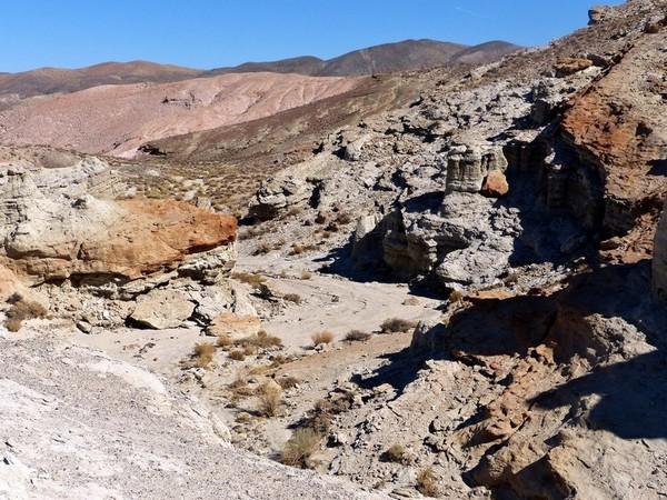 Gun Battle Canyon (The Big Country), sur l'Hagen Trail