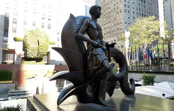 First Human Youth Rockefeller Center New York
