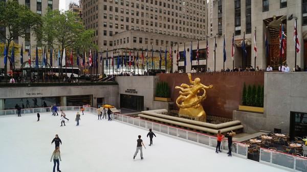 Patinoire Rockefeller Center New York