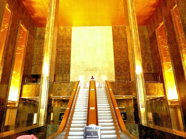 Accueil Rockefeller Center New York