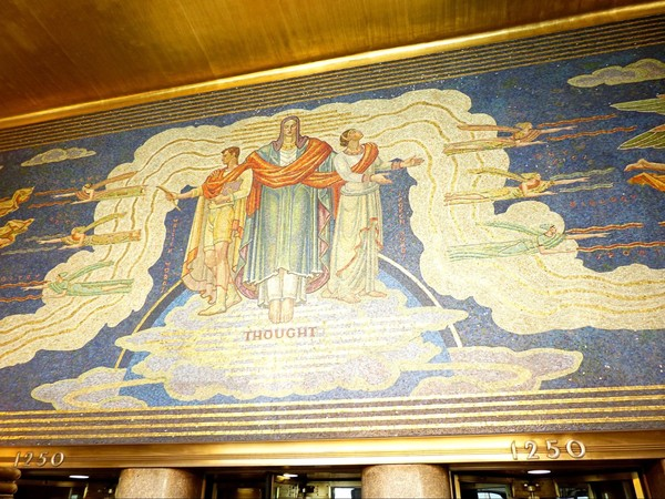 Intelligence awakening mankind Rockefeller Center New York