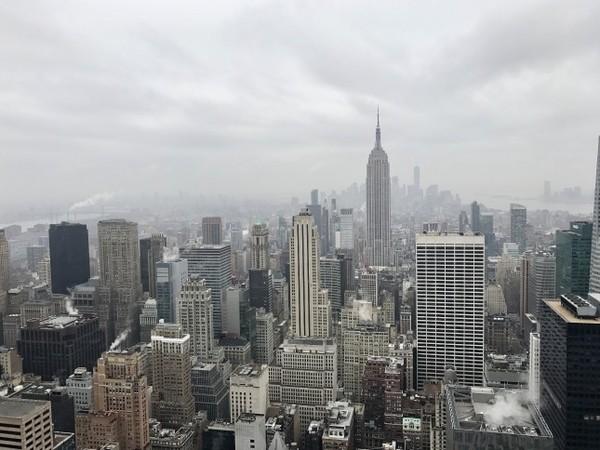 Vue depuis le Top of the Rock New York