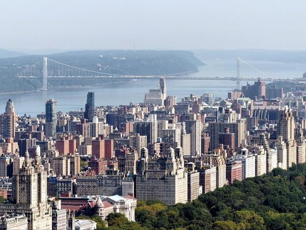 Le George Washington Bridge vu depuis le Top of the Rock New York