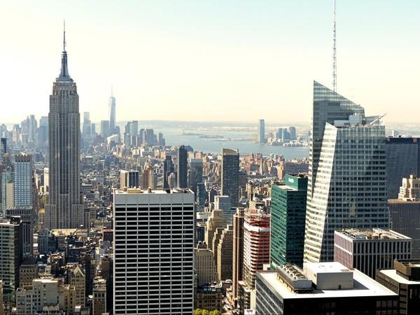 Vue vers la pointe de Manhattan depuis le Top of the Rock New York