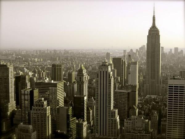 Empire State Building vu depuis le Top of the Rock