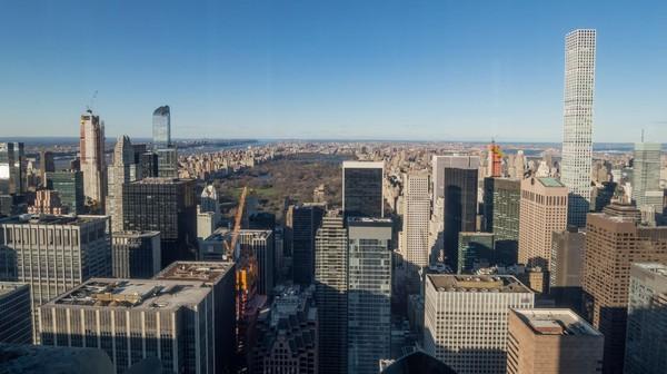 Central Park vu l'après-midi depuis le Top of the Rock