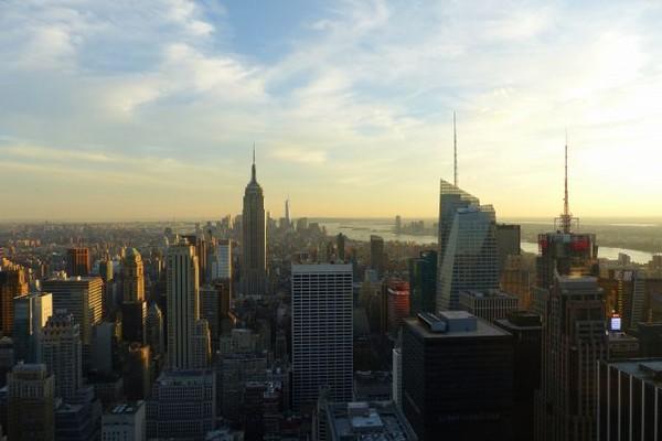 Manhattan en fin d'après-midi depuis le Top of the Rock
