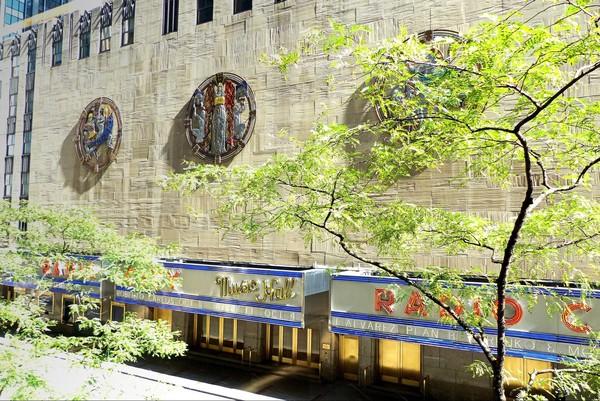 Extérieurs Radio City Music Hall New York