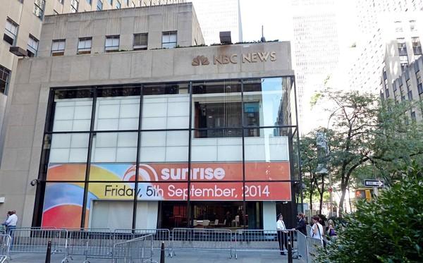 Extérieurs NBC Studios New York