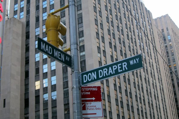 Signalétique Mad Men Avenue Don Draper Way New York