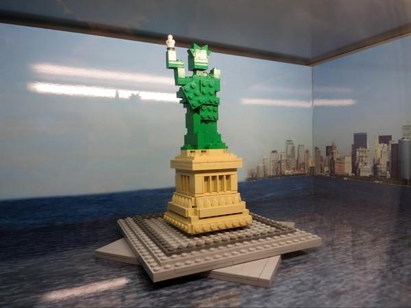 Statue de la Liberté LEGO Store New York
