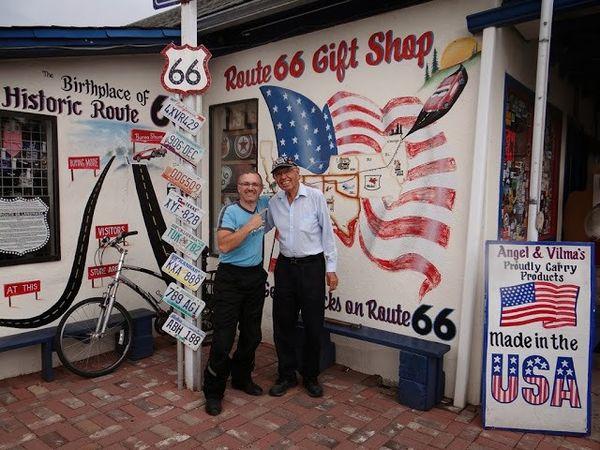 Angel Delgadillo Route 66