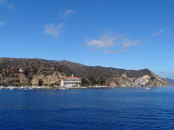 A l'approche de Avalon Santa Catalina Island