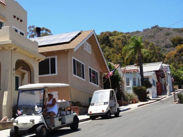Voiturette de golf Avalon Santa Catalina Island