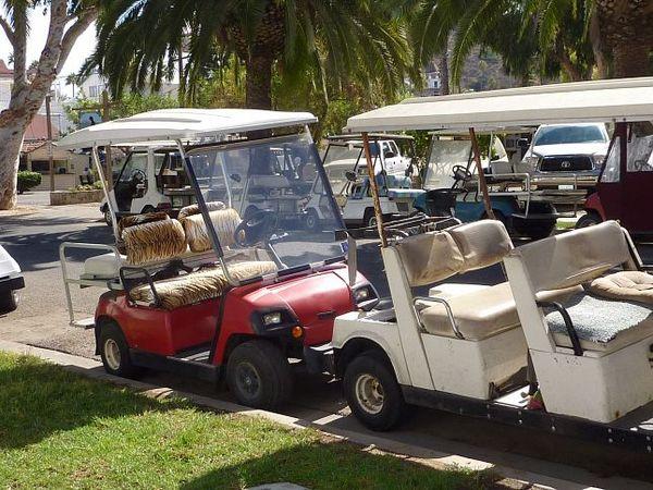 Voiturettes de Golf à Avalon Santa Catalina Island