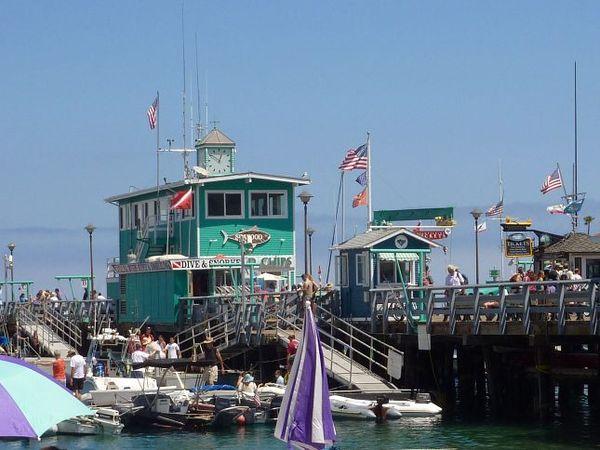 Avalon Pier Santa Catalina Island