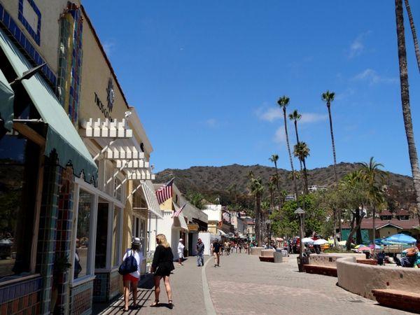 Crescent Avenue Santa Catalina Island