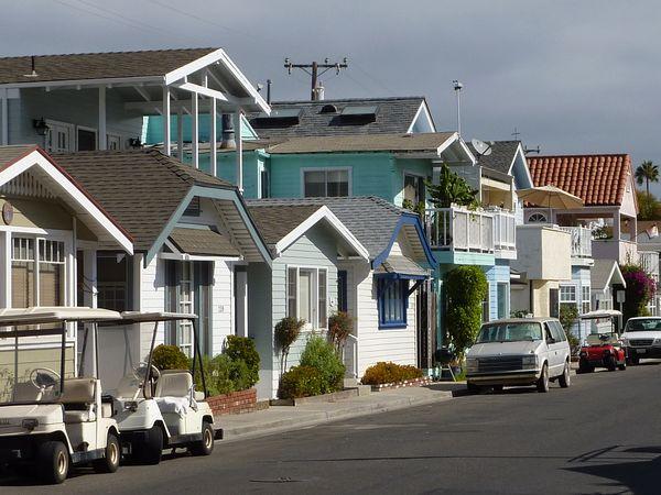 Rue paisible Avalon Santa Catalina Island