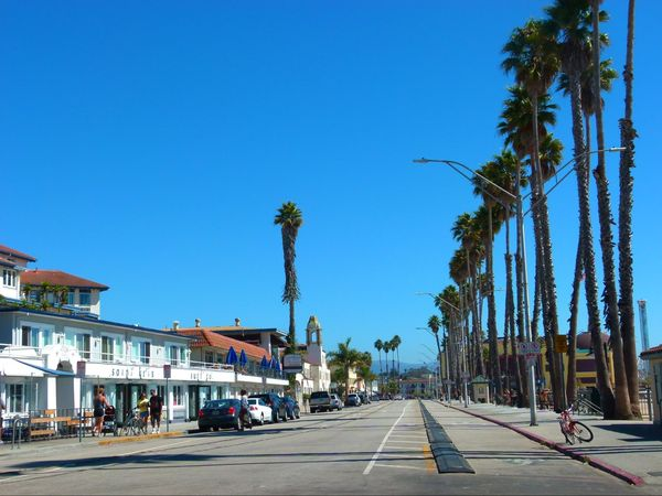 Downtown Santa Cruz Californie