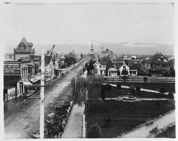 Santa Cruz en 1880