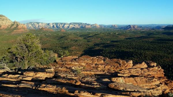 Panorama Doe Mountain Sedona