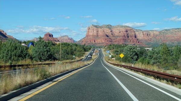 Highway 179 vers Sedona