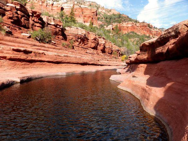 Bassin naturel Slide Rock