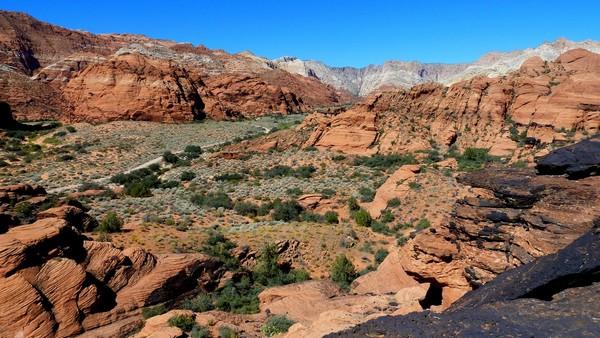 Hidden Pinyon Trail overlook Utah