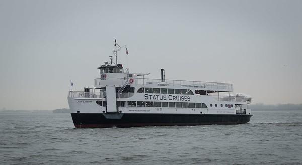 Ferry pour la visite de la Statue de la Liberté