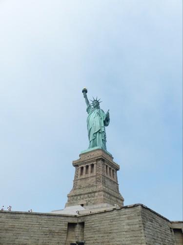 Piédestal de la Statue de la Liberté