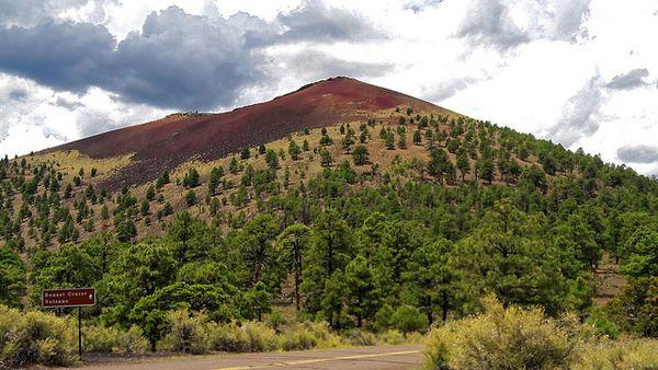Cinder Hills Overlook Sunset Crater Volcano Arizona