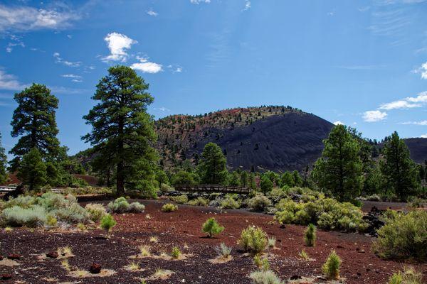Bonito Vista Trail Sunset Crater Volcano Arizona
