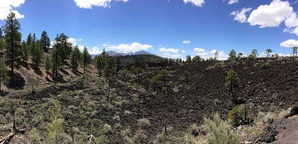 Lenox Crater Trail Sunset Crater Volcano Arizona