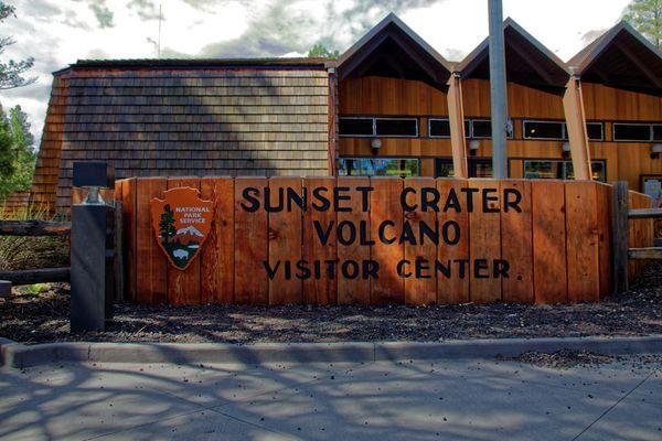 Visitor Center Sunset Crater Volcano Arizona