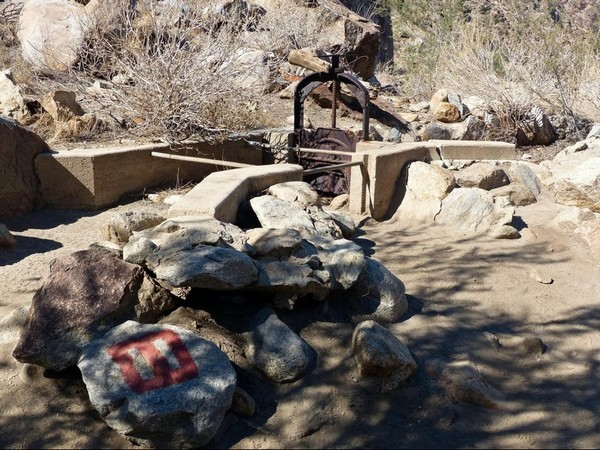 Ancien système d'irrigation Tahquitz Canyon