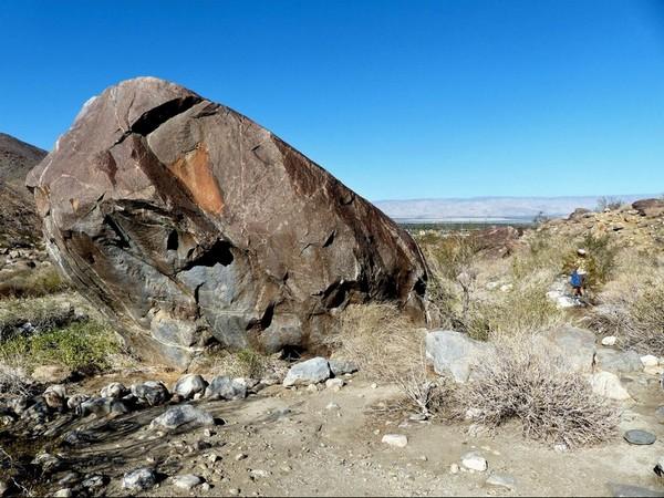 Mi as kalet (a grey top) Tahquitz Canyon