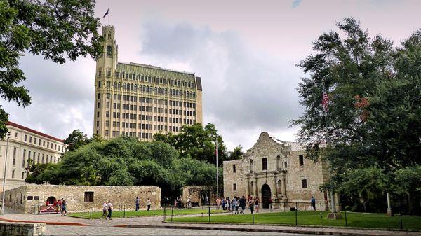 Alamo Plaza San Antonio Texas