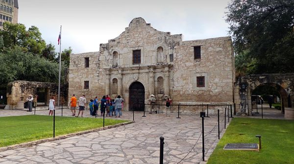 The Alamo Church San Antonio Texas