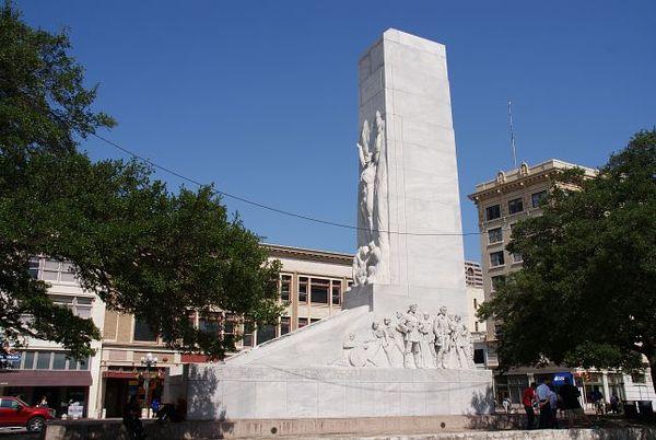 Alamo Cenotaph San Antonio