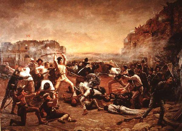 The Fall of The Alamo, Crockett's Last Stand