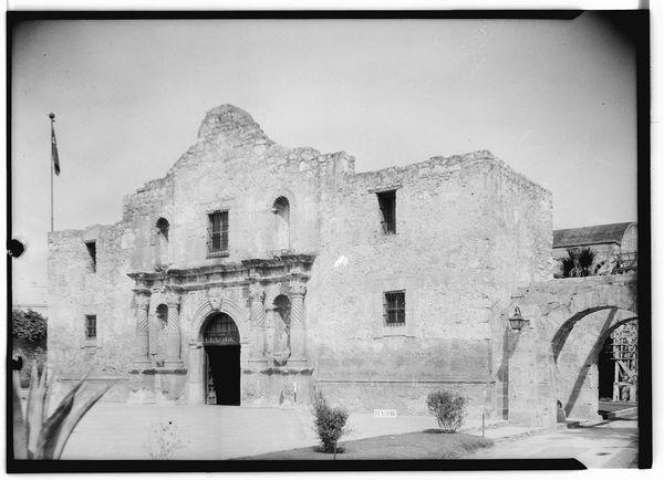 Mission San Antonio de Valero - 8 avril 1936 (Arthur W. Stewart)