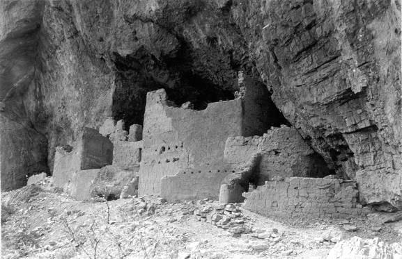Upper Cliff Dwelling - 1941