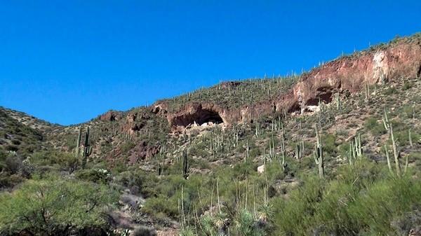 Vue sur le Lower Cliff Dwelling