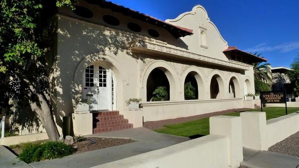 The Steinfeld Mansion (El Presidio) Tucson